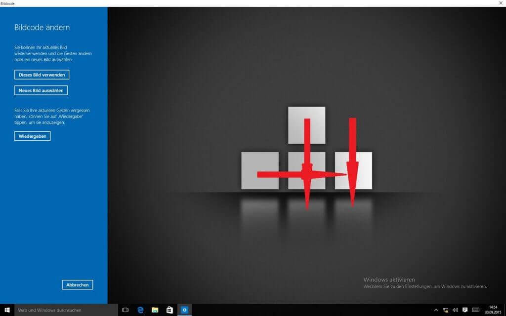 Windows 10: Beispiel Bildcode erstellen