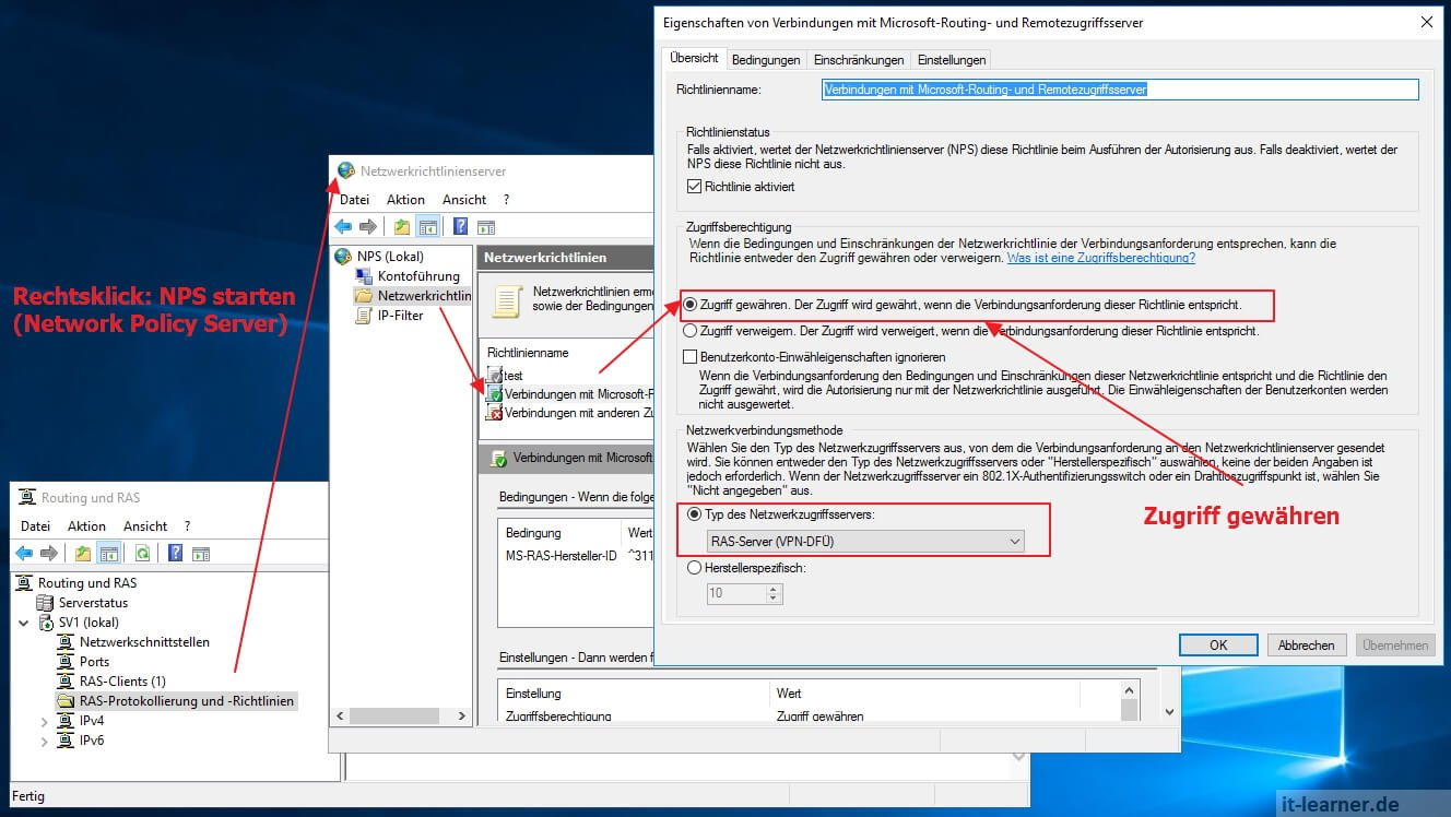 VPN Server mit Windows Server 2016 | IT-Learner